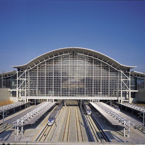 경기도건축상수상 High Speed Railroad Gwangmyeong Station Gyeonggi-do Architecture Award-Encouragement Prize