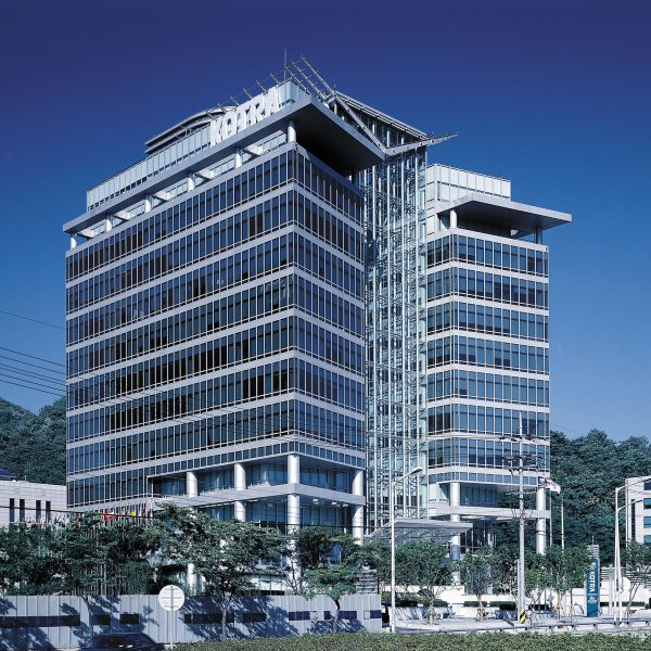 New headquarters of Korea Trade-Investment Promotion Agency 서울시건축상 장려상 Seoul Architecture Award Encouragement Prize