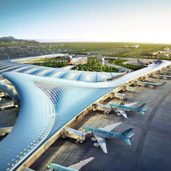 한국건축문화대상 대통령상 Incheon International Airport TerminalⅡ Korean Architecture Award Presidntial Prize