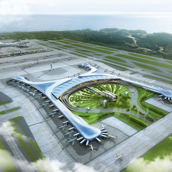한국건축문화대상 대통령상 Incheon International Airport TerminalⅡ Korea Architecture Award Presidntial Prize