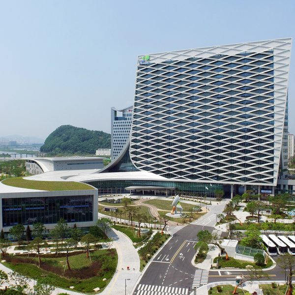 대한민국녹색건축대전 대상 New Headquarters of Korea Land and Housing Korea Green building Award Grand Prize