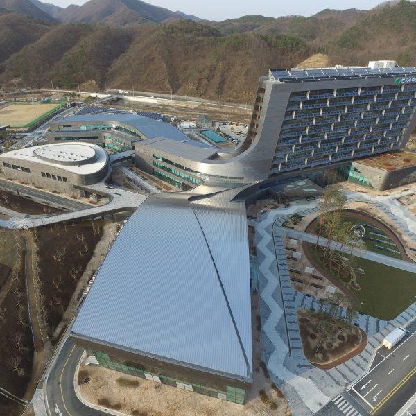 대한민국공공건축상 우수상 New Headquarters of Korea Hybrid & Nuclear Power Corpertation Korea Public Architecture Award Honored